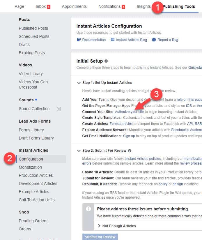 شرح كيفية تفعيل المقالات الفورية في موقع ووردبريس في ثلاث خطوات 7