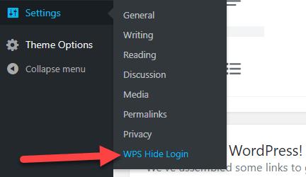 خطوات تغيير رابط لوحة تحكم ووردبريس wp-admin من اجل حماية الموقع 1