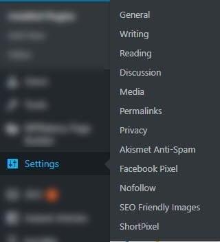 settings الاعدادات